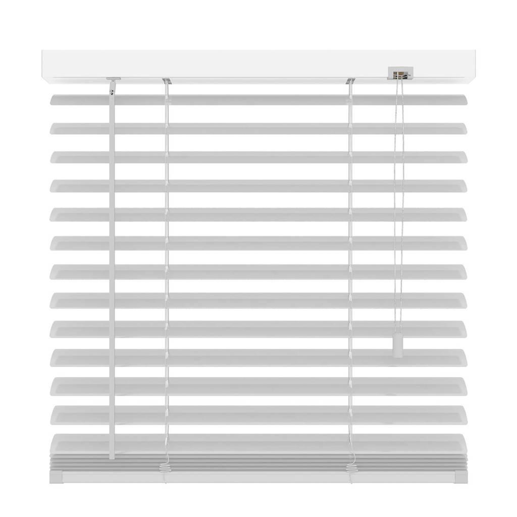 Decosol Deluxe aluminium jaloezie (140x180 cm), Mat wit