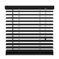 Decosol Deluxe aluminium jaloezie (100x180 cm), Mat zwart