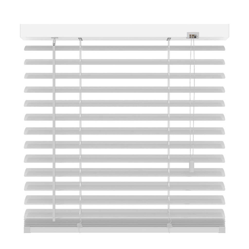 Decosol Deluxe aluminium jaloezie (100x180 cm), Mat wit