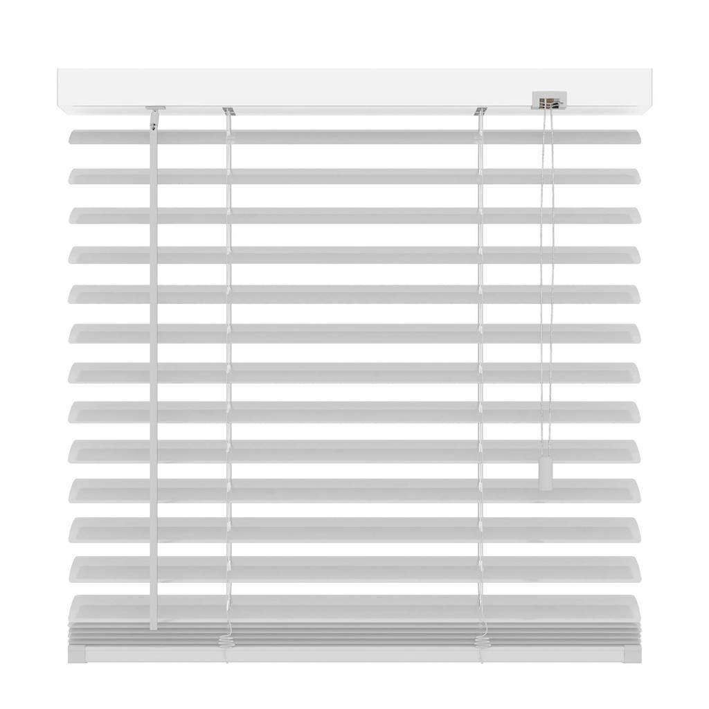 Decosol Deluxe aluminium jaloezie (80x180 cm), Mat wit
