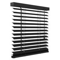 Decosol Deluxe aluminium jaloezie (60x180 cm), Mat zwart