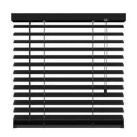 Decosol Deluxe aluminium jaloezie (140x180 cm), Mat zwart