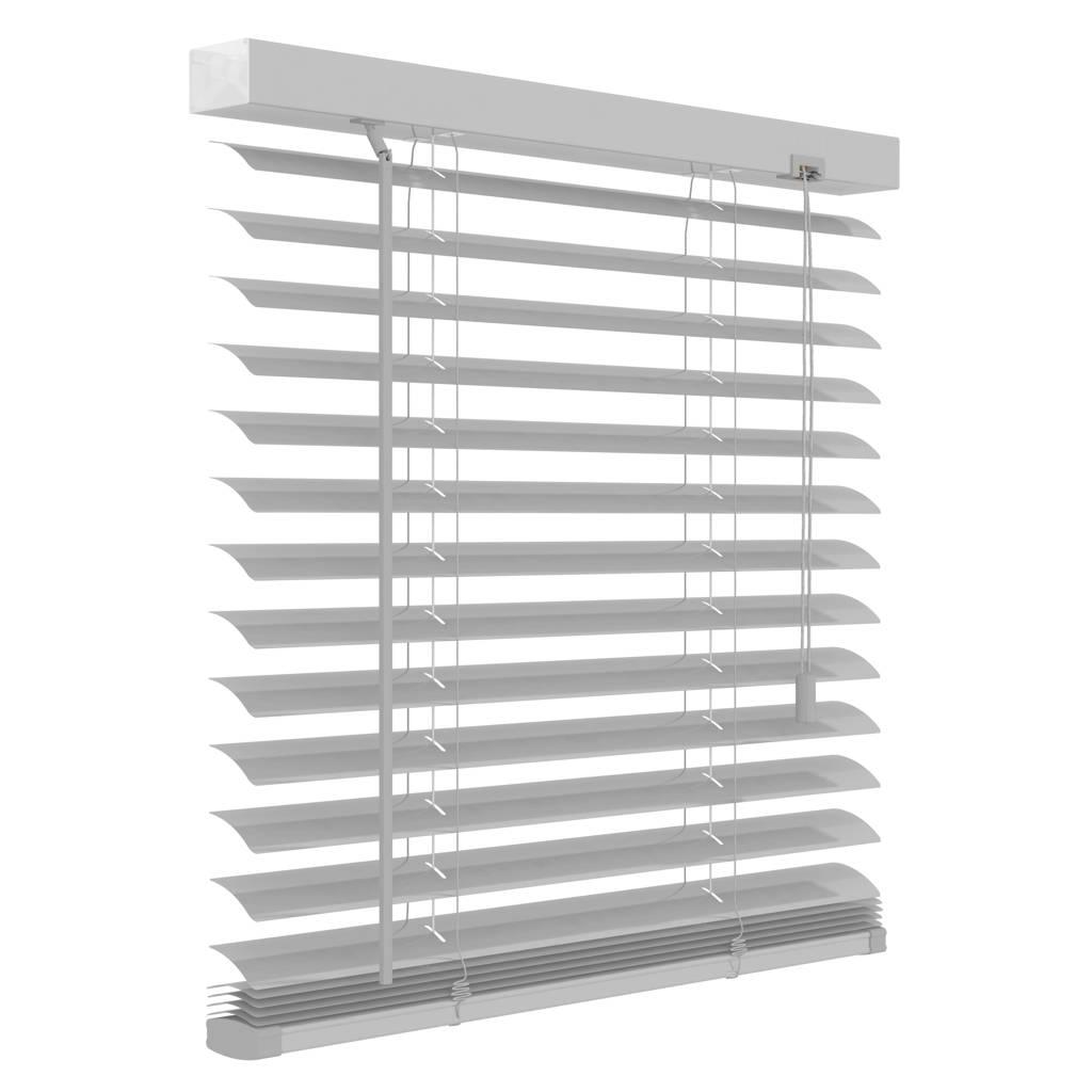 Decosol Deluxe aluminium jaloezie (60x180 cm), Mat wit