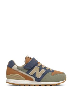 996  sneakers camel/blauw