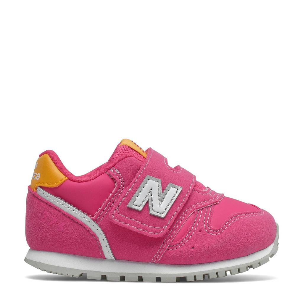 New Balance 373  sneakers roze/geel, Roze/geel