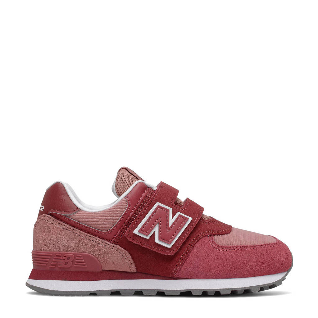 New Balance 574  sneakers rood, Rood