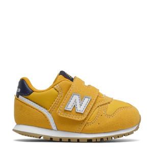 373  sneakers geel/blauw