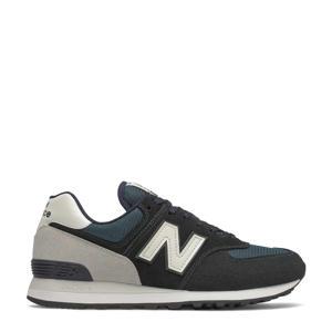 574  sneakers donkerblauw/lichtgrijs