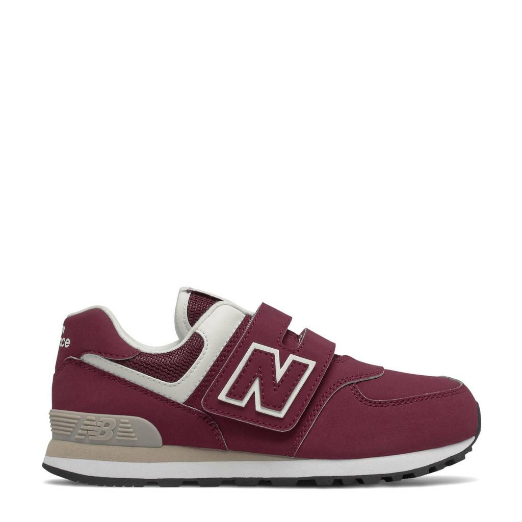 New Balance 574  sneakers donkerrood, Donkerrood