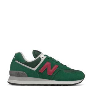 574  sneakers groen/roze