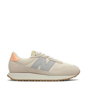 237  sneakers ecru/grijs