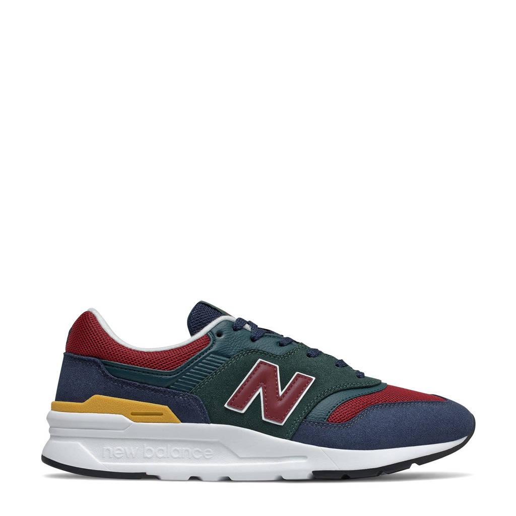 New Balance 997  sneakers zwart/rood/geel, zwart/rood geel