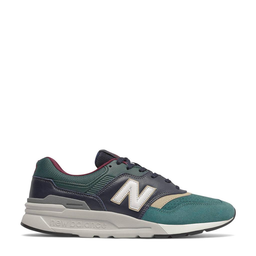 New Balance 997  sneakers donkerblauw/blauw/groen, Donkerblauw/blauw/groen