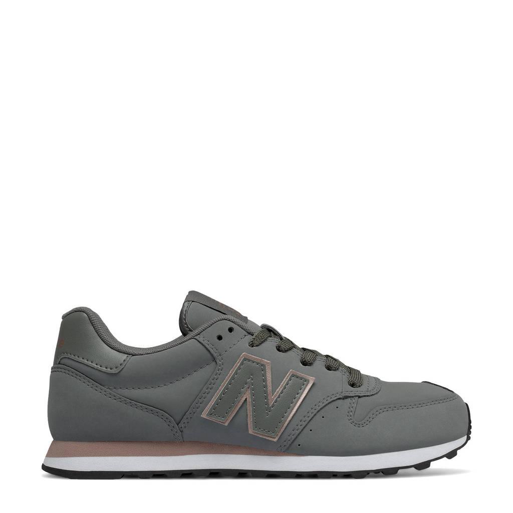 New Balance 500  sneakers grijs/camel, Grijs/camel
