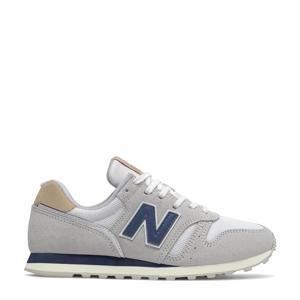 373  sneakers blauwgrijs/donkerblauw