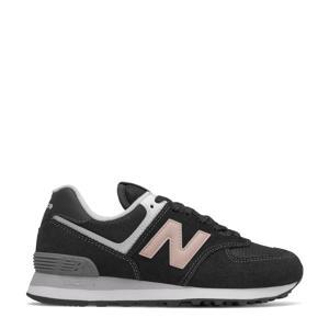 574  sneakers zwart/lichtroze