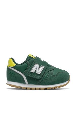 373  sneakers donkergroen/geel