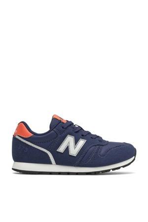 373  sneakers blauw/rood