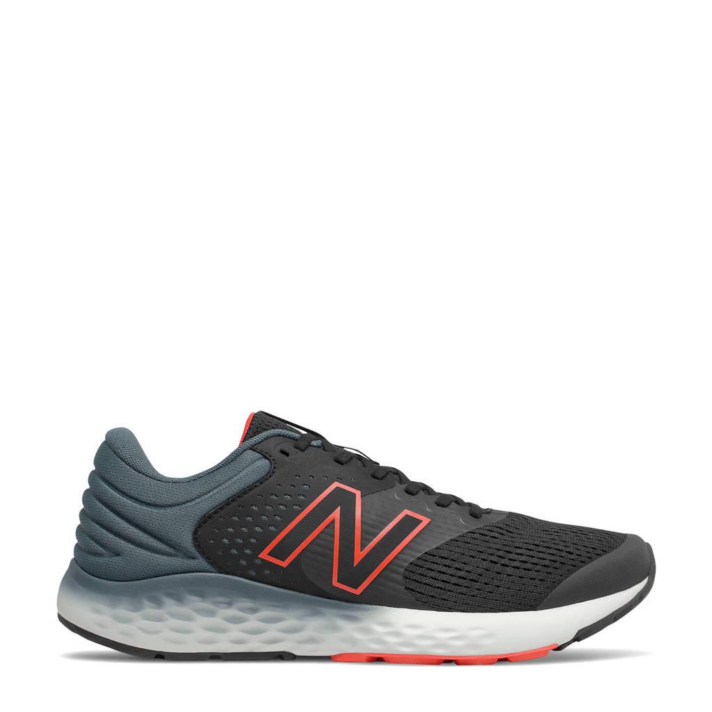 New Balance 520  hardloopschoenen zwart/rood, Zwart/rood