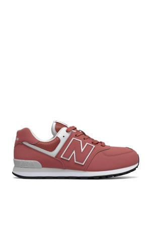 574  sneakers roze/wit