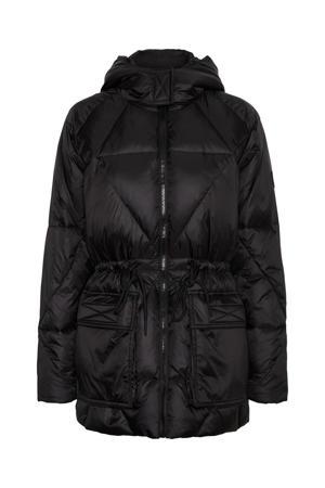 gewatteerde jas NMTANNA zwart