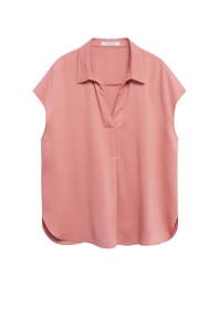 Violeta by Mango top roze, Roze