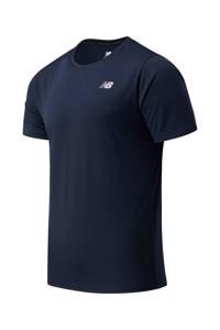 New Balance   sport T-shirt donkerblauw, Donkerblauw