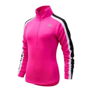 sport T-shirt fuchsia/donkerblauw