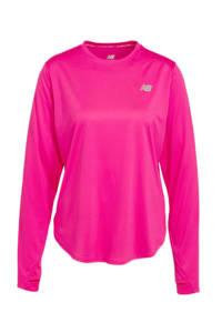 New Balance hardloopshirt roze, Roze