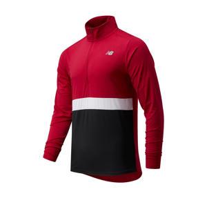 hardloopshirt Accelerate rood/wit/zwart