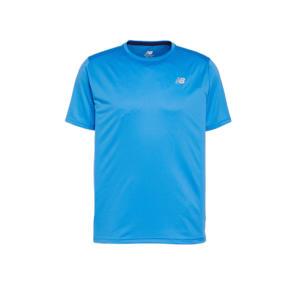 sport T-shirt kobaltblauw
