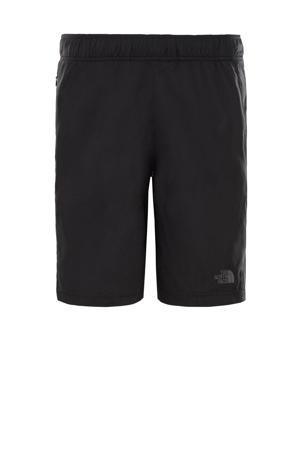 regular fit short 24/7 SHORT met logo zwart