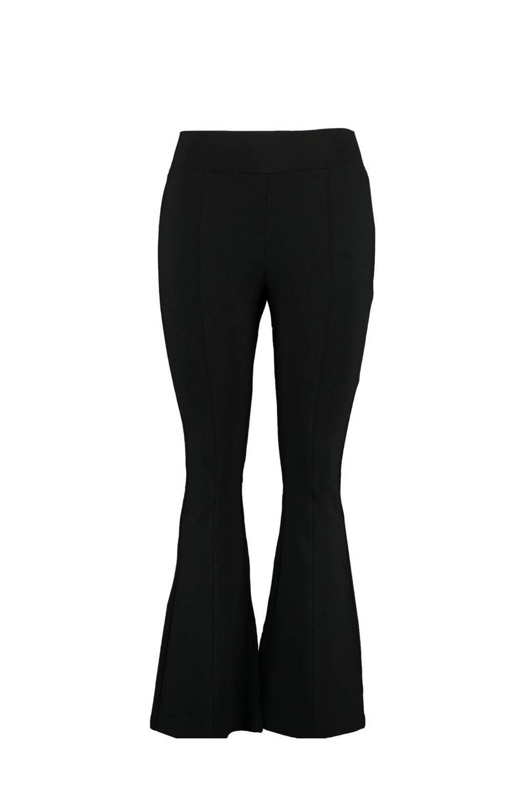 MS Mode Plus Size flared legging zwart, Zwart
