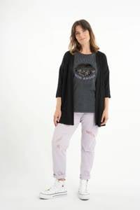 MS Mode vest zwart, Zwart