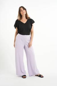 MS Mode wide leg palazzo broek lila, Lila