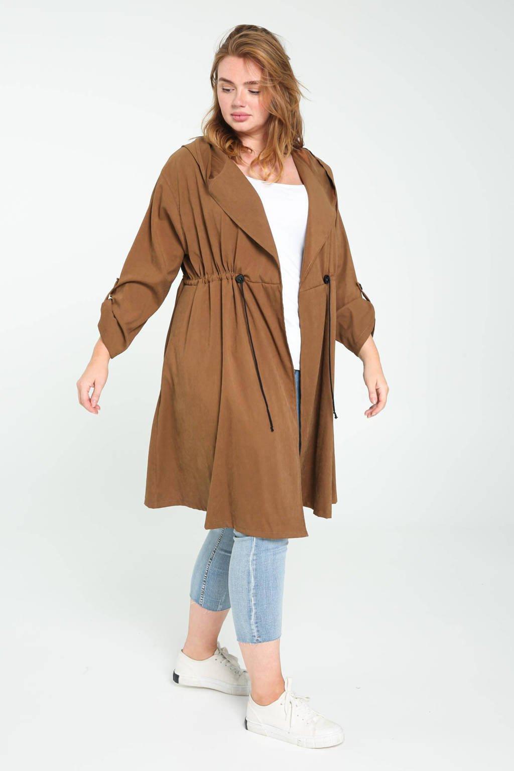 Paprika suedine blazerjas camel, Camel