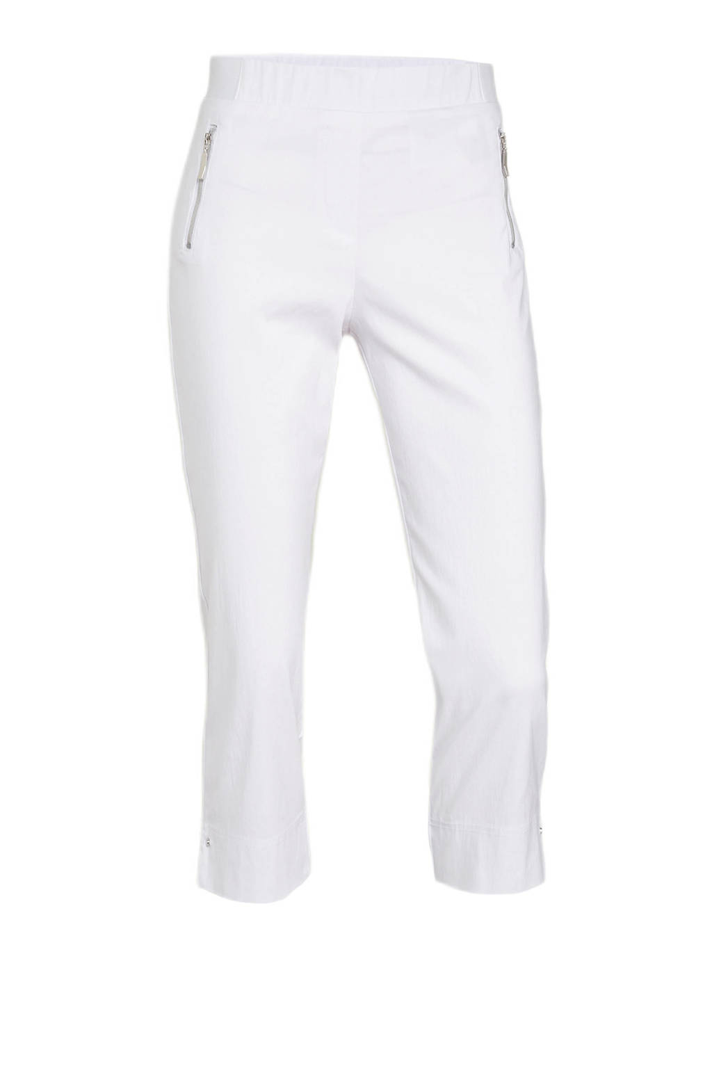 C&A Canda Premium cropped straight fit tregging wit, Wit