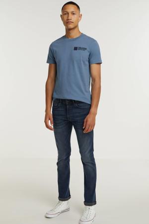 T-shirt met logo 5132 copen blue