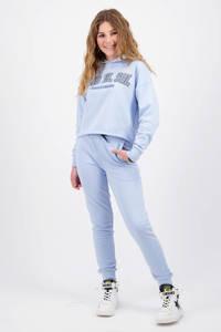 Vingino x Senna Bellod regular fit joggingbroek Sanna lichtblauw, Lichtblauw