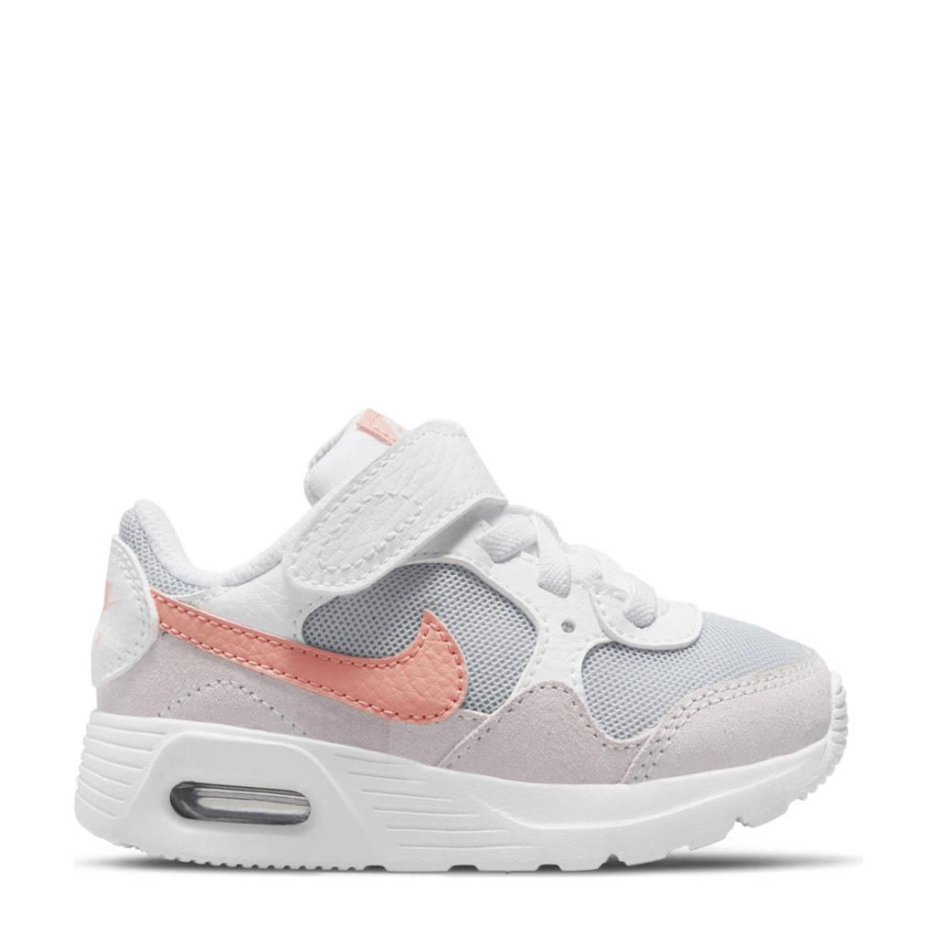 Nike Air Max  sneakers wit/lichtoranje/lichtgrijs