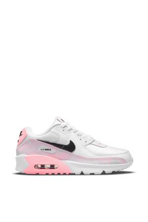 Air Max 90 sneakers wit/zwart/lichtroze