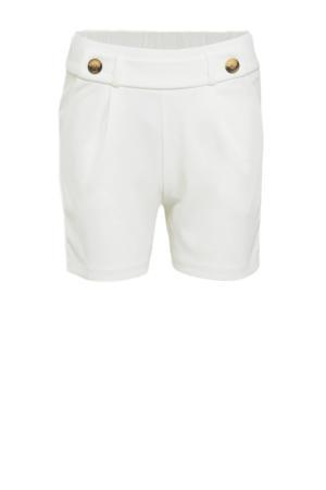 straight fit korte broek JDYGEGGO wit