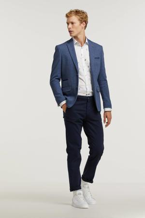 regular fit colbert blauw