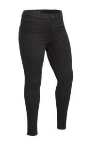PIECES Curve skinny broek PCHIGHFIVE zwart, Zwart
