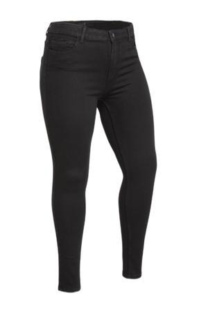 skinny broek PCHIGHFIVE zwart