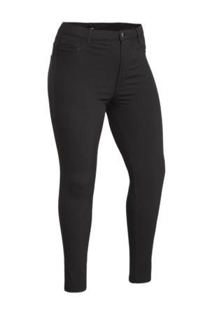 high waist skinny tregging PCHIGHSKIN WEAR JEGGINGS/NOOS QX BC zwart