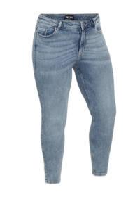 PIECES Curve skinny jeans PCLILI  light blue denim, Light blue denim