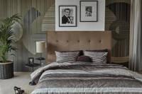 Riviera Maison katoenen dekbedovertrek 1 persoons, 1 persoons (140 cm breed), Bruin