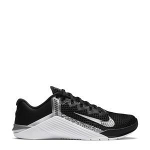 Metcon 6 fitness schoenen zwart/zilver/wit