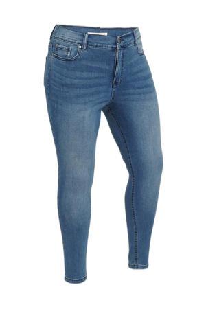 skinny jeans 24/7 Denim Range met biologisch katoen vintage blue